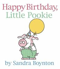 Happy Birthday, Little Pookie (Pookie Books) by Sandra Boynton