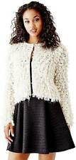 Guess Womens Beige Loop Sweater Coverup Jacket Size S