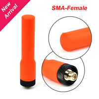 SF20 vhf & uhf dual band walkie talkie rubber mini flexible antenna sma female