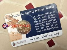 2 Euro Commémorative Malte 2015 BU - 1er Vol de Malte avec poinçon de la KNM