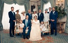 "PRINCE LOUIS CHRISTENING ENTIRE ROYAL FAMILY PHOTO FRIDGE MAGNET 5"" X 3.5"""