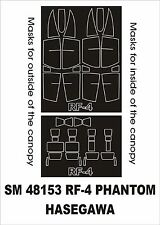 Montex 1/48 RF-4 Phantom Paint Mask for Hasegawa kit