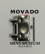 MOVADO MUSEUM WATCH LINK MENS STAINLESS STEEL  84 E4 9874