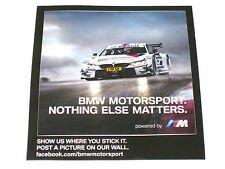 original BMW 4er/M4 DTM *Motorsport* Aufkleber/Sticker/label (10cm x 11cm) *TOP*