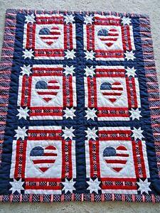 Americana Flag Quilt