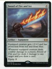 Magic The Gathering MTG Double Masters Card #297 Sword of Fire and Ice