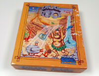 Chuck Rock by CORE - Original Amiga Spiel VG OVP Big Box sgZ Tested & Working!