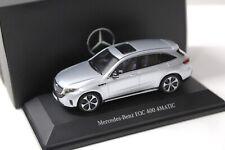 1:43 Spark Minimax Mercedes EQC 400 4Matic silver DEALER NEW bei PREMIUM-MODELCA