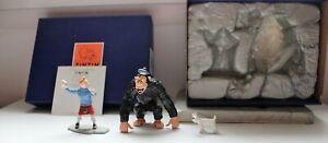 Figurine Tintin et le Gorille Ranko, PIXI, n°46945, boite et certificat