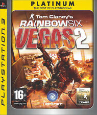 RAINBOW SIX VEGAS 2 for Playstation 3 PS3 - with box & manual - Platinum