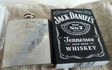 jack daniels sour mash whiskey hip flask