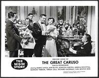 Mario Lanza as The Great Caruso Original 1951 MGM Promo Photo Opera Ann Blyth