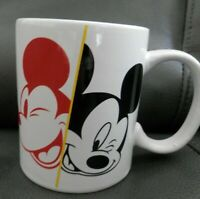 Disney 90 Years of Mickey Coffee Mug Cup, Mickey Mouse, EUC