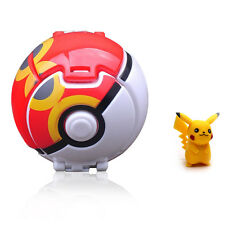 Bounce Sport ball&Pikachu Pokemon Cosplay Pop-up Elf Go Fighting Ball Kids Toy