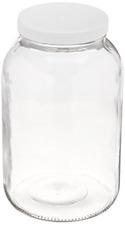 Fermentation Glass Jar Pickling USDA Certified Food Grade Plastic Lid 1-Gallon