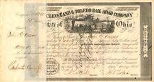 John G. Vassar - Cleveland & Toledo Rail Road Company