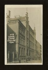 Germany COLOGNE Conn. Camp.1920 soldiers entering building RP PPC