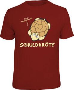 Schuldkröte T-Shirts - Grössen S M L XL XXL