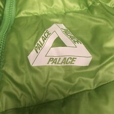 PALACE SKATEBOARDS PERTEX FUSE PUFFA JACKET LIME XL XLARGE WINTER 2019
