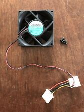 SUNON 80mm Case Fan 4 Pin Power Connector 12V DC