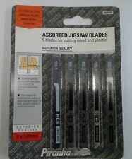 5 x Piranha Jigsaw Blades for Wood/Plastic  X28095
