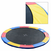 14FT Trampoline Pad Replacement Jump Bounce Colorful (Frame ONLY)
