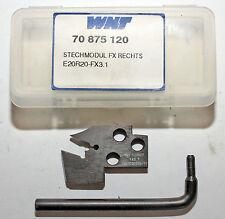 Wendeplattenhalter Wendeplatten-Drehmeißel Stechmodul WNT E20R20-FX3.1, neu
