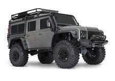 TRAXXAS TRX 4 LANDROVER  DEFENDER ROCK CRAWLER RADIO CONTROLLED CAR GREY