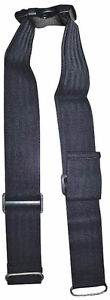 Aidapt Wheelchair & Mobility Scooter Safety Lap Strap / Seat Belt - Black