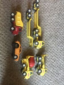 5  x Vintage Tonka Tin Trucks Old Classic Collectables Toys