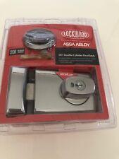 Lockwood 001 Double Cylinder Deadlatch Door Lock Bright Chrome