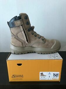 Mongrel 561060 Work Boots. Safety Steel Toe Cap, Vibram Outsole , Zip Sider.