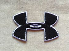 UNDER ARMOUR SPORT LOGO EMBROIDERY IRON ON PATCH BADGE #BLACK