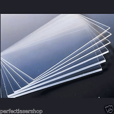 Clear Acrylic Plexiglass Perspex 5mm Thick 210mm x 300mm A4 Sheet