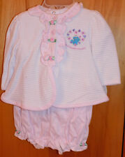 NW/0T- Sesame Street Set for Infant Girl 6-9 mos.  Great for reborns too!