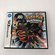 Pokemon Platinum Version (Nintendo DS, 2009) Complete Tested Working.