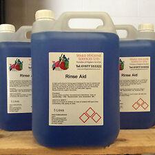 2 x Auto Rinse Aid 5ltr 5 L 5 L Dishwash Machine 10 L Liquide 10 10ltr joblots