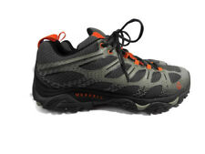 Merrell Men's Moab Edge Waterproof Low Rise Hiking Shoes Grey Men's size 11 US