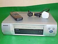 DAEWOO ST220PI Video Cassette Recorder VHS Smart VCR Silver Quality+Remote