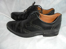 WEBER SCHUH MEN'S BLACK LACE UP BROGUES SHOES SIZE UK 10.5 EU 45 US 12 VGC