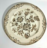 Antique J F Wileman Chinese Plant Staffordshire Dinner Plate See pics! Old!