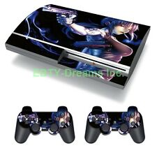 Black Lagoon Anime Girl Revy Rebecca Skin Sticker Decal Protector PS3 FAT