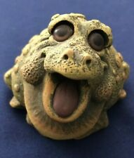 """Happy Toad Figurine about 4"""" Tall"""