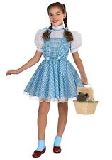 CHILD DELUXE DOROTHY COSTUME SIZE SMALL 4-6 (w/defect)