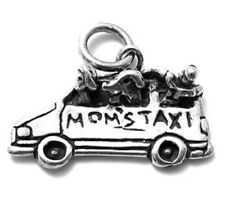 925 Sterling Silver Mom's Taxi Charm