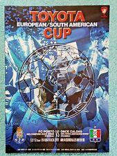 2004 - CLUB WORLD CUP FINAL PROGRAMME - PORTO v ONCE CALDAS - V.G CONDITION