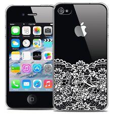 Carcasa Cristal para iPhone 4/4s Extra Fina Rígido Spring Parte inferior encaje