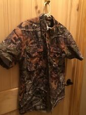 Mossy Oak Russell outdoors camo shirt size large