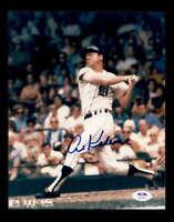 Al Kaline PSA DNA Coa Hand Signed 8x10 Tigers Photo Autograph