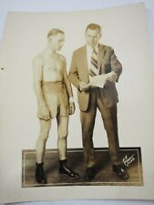 "Ray Rychell Professional Boxer & Manager 1925 Studio Photo 8"" x 10"""